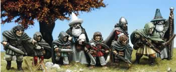 Colonel Marbles Miniatures Masterworks :: Halfling Showcase